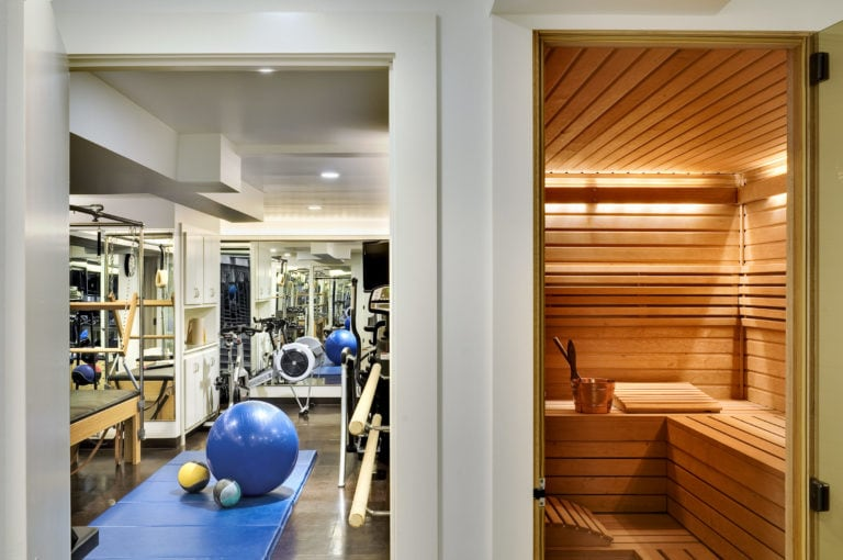 Gym and Sauna